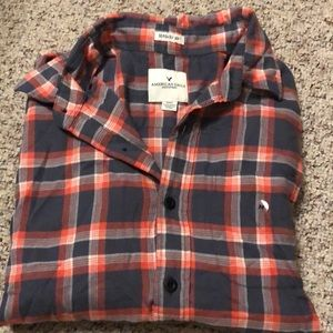 American eagle men's Button Up